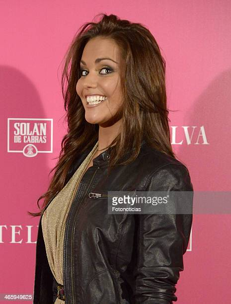 Lara Alvarez attends 'T de Telva' beauty awards 2014 at the Palace Hotel on January 30 2014 in Madrid Spain