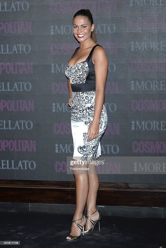 Lara Alvarez attends the Cosmopolitan Beauty Awards at Platea Restaurant on July 7, 2014 in Madrid, Spain.