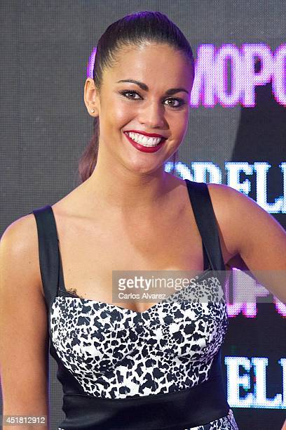 Lara Alvarez attends the Cosmopolitan Beauty Awards at the Platea Restaurant on July 7 2014 in Madrid Spain