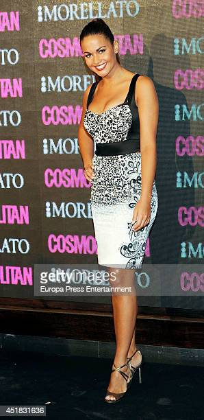 Lara Alvarez attends the Cosmopolitan Beauty Awards on July 7 2014 in Madrid Spain