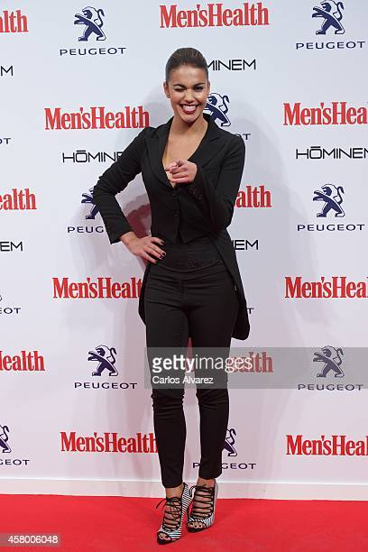 Lara Alvarez attends the Men's Health 2014 awards at the Goya Theater on October 28 2014 in Madrid Spain