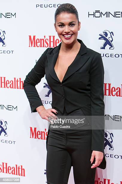 Lara Alvarez attends the Men's Health Awards Gala at Goya Theatre on October 28 2014 in Madrid Spain
