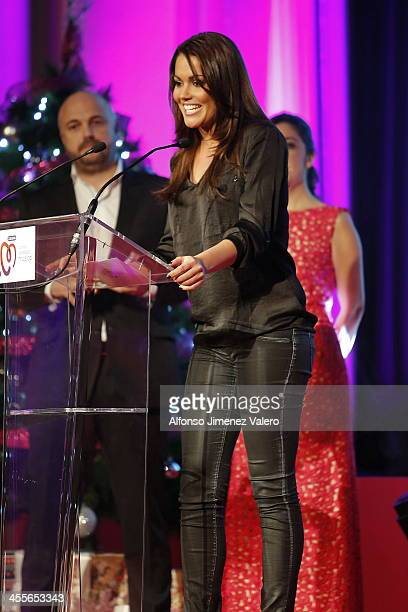 Lara Alvarez attends the 'Pie Derecho' Music Awards 2013 at Callao cinema on December 12 2013 in Madrid Spain