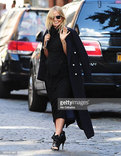 Lara Bingle is seen in Soho on September 27 2013 in New York City