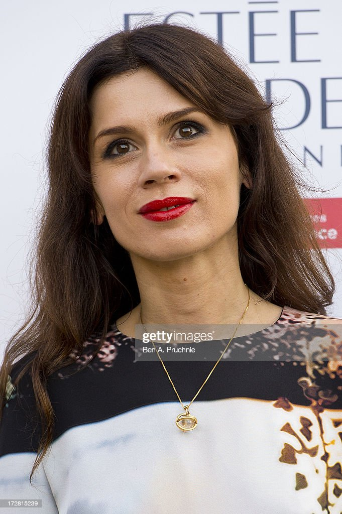 Lara Bohinc attends the launch party for the Fashion Rules exhibition, a collection of dresses worn by HRH Queen Elizabeth II, Princess Margaret and Diana, Princess of Wales at Kensington Palace on July 4, 2013 in London, England.