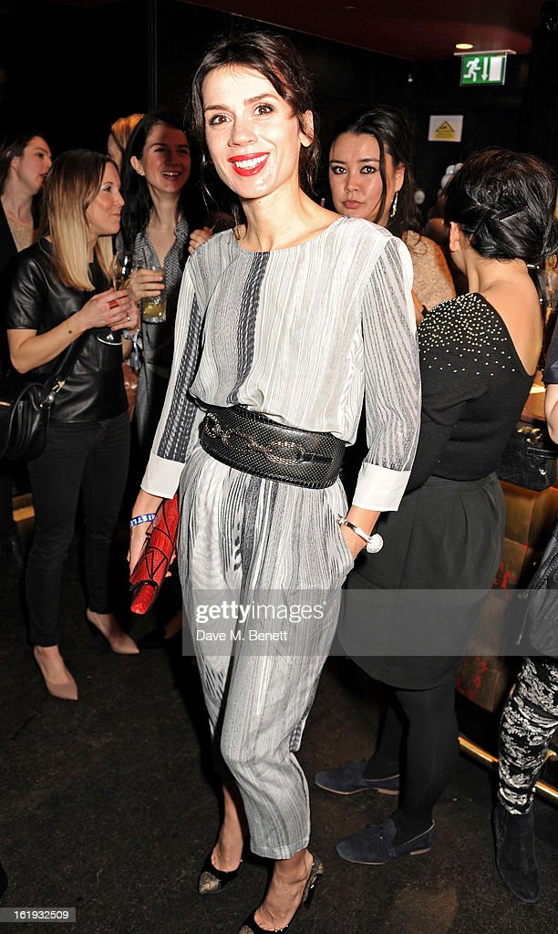 Lara Bohinc attends the Whistles Limited Edition Autumn/Winter 2013 Collection party at The Arts Club on February 17, 2013 in London, England.