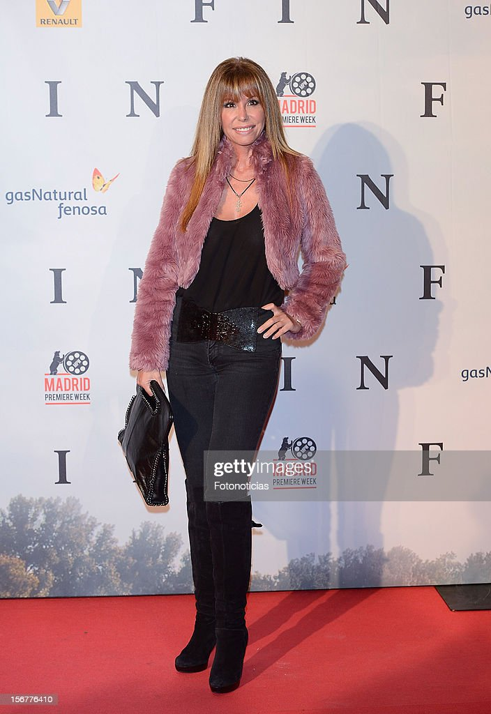 Lara Dibildos attends the premiere of 'Fin' at Callao Cinema on November 20, 2012 in Madrid, Spain.