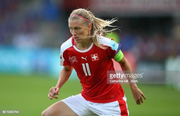 Lara Dickenmann of Switzerland Women during the UEFA Women's Euro 2017 match between Iceland and Switzerland at Stadion De Vijverberg on July 22 2017...