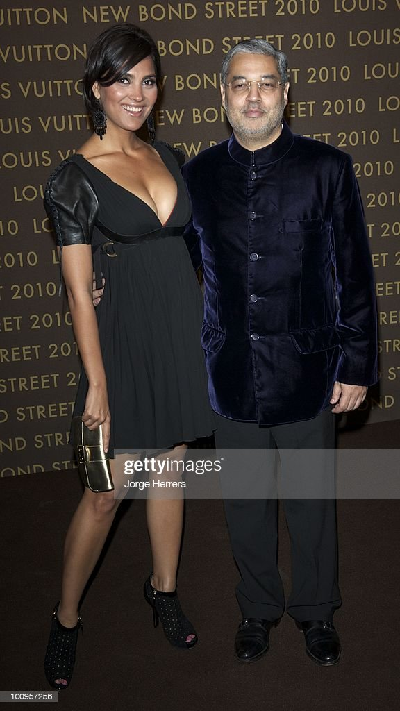 Lara Dutta (L) and Tikka Singh, Prince of Kapurthala, attends the after party for the launch of the Louis Vuitton Bond Street Maison on May 25, 2010 in London, England.