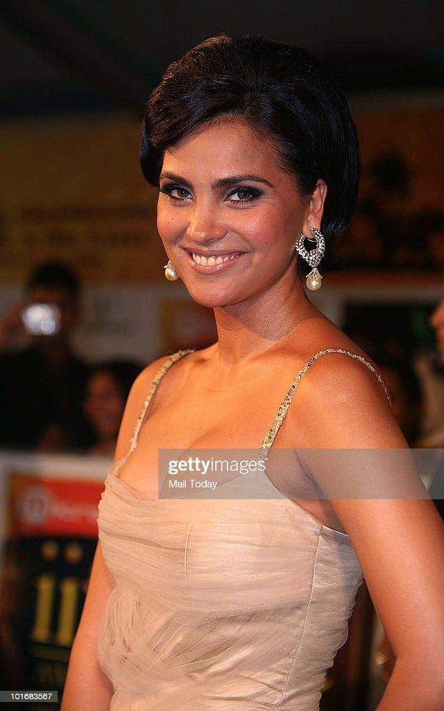 Lara Dutta at the IIFA Awards in Colombo on June 5 2010