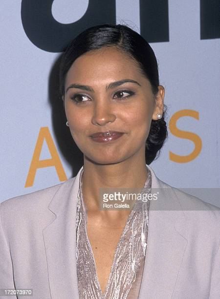 Lara Dutta attends AmFAR 'An Evening on Ellis Island' Benefit Gala on June 21 2000 at the Immigration Museum on Ellis Island in New York City
