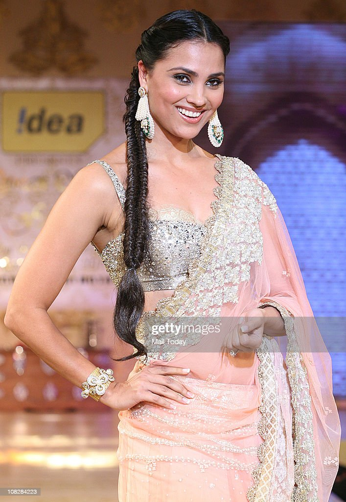 Lara Dutta during Shabana Azmi's Charity Show 'Mizwan' which is an Welfare Society run by her at Trident Bandra Kurla Mumbai