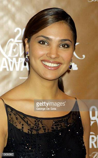 Lara Dutta Miss Universe 2000 attends the Fifth Annual New York Magazine Awards December 4 2000 at Saturday Night Live Studio 8H at Rockefeller...