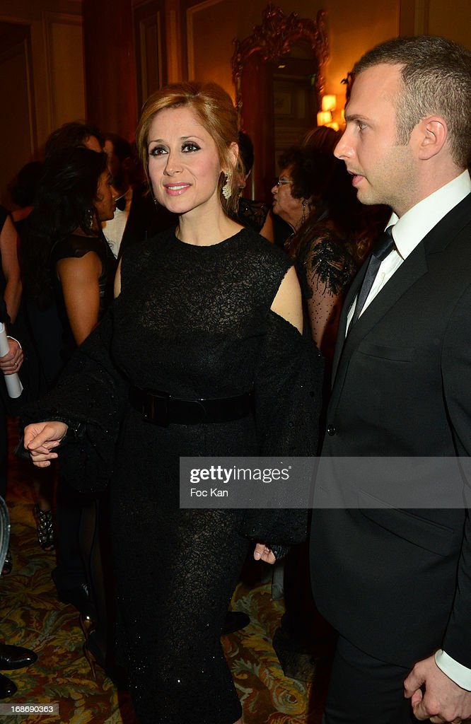 <a gi-track='captionPersonalityLinkClicked' href=/galleries/search?phrase=Lara+Fabian&family=editorial&specificpeople=228901 ng-click='$event.stopPropagation()'>Lara Fabian</a> attends the Eva Longoria Presents 'Global Gift Gala' 2013 - Photocall at the Hotel Four Season GeorgesV on May 13, 2013 in Paris, France.