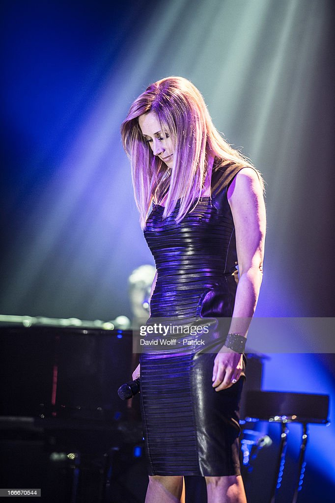 <a gi-track='captionPersonalityLinkClicked' href=/galleries/search?phrase=Lara+Fabian&family=editorial&specificpeople=228901 ng-click='$event.stopPropagation()'>Lara Fabian</a> performs at Theatre de Paris on April 15, 2013 in Paris, France.