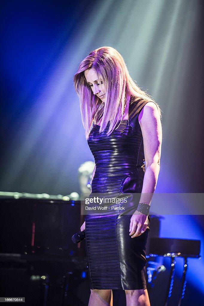 Lara Fabian In Concert At Theatre de Paris