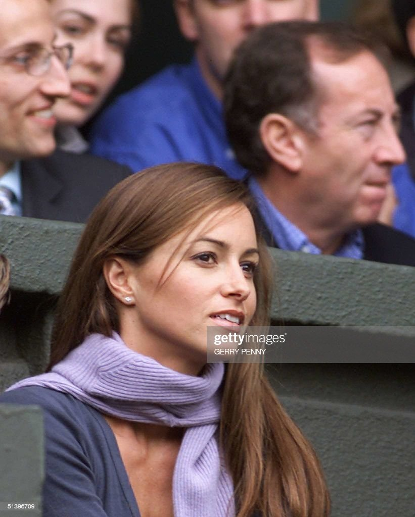 Lara Feltham girlfriend of Patrick Rafter watche