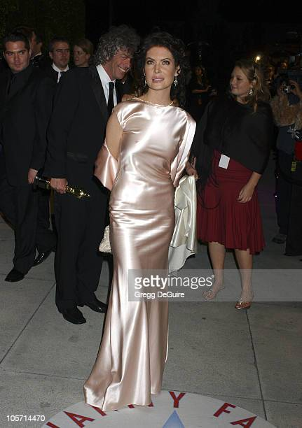 Lara Flynn Boyle during 2005 Vanity Fair Oscar Party Arrivals at Mortons in Los Angeles California United States