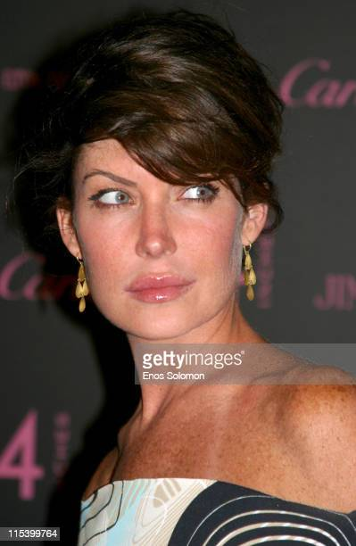 Lara Flynn Boyle during '4 Inches' Photographic Auction to Benefit The Elton John Aids Foundation June 21 2005 at Morton's in West Hollywood...