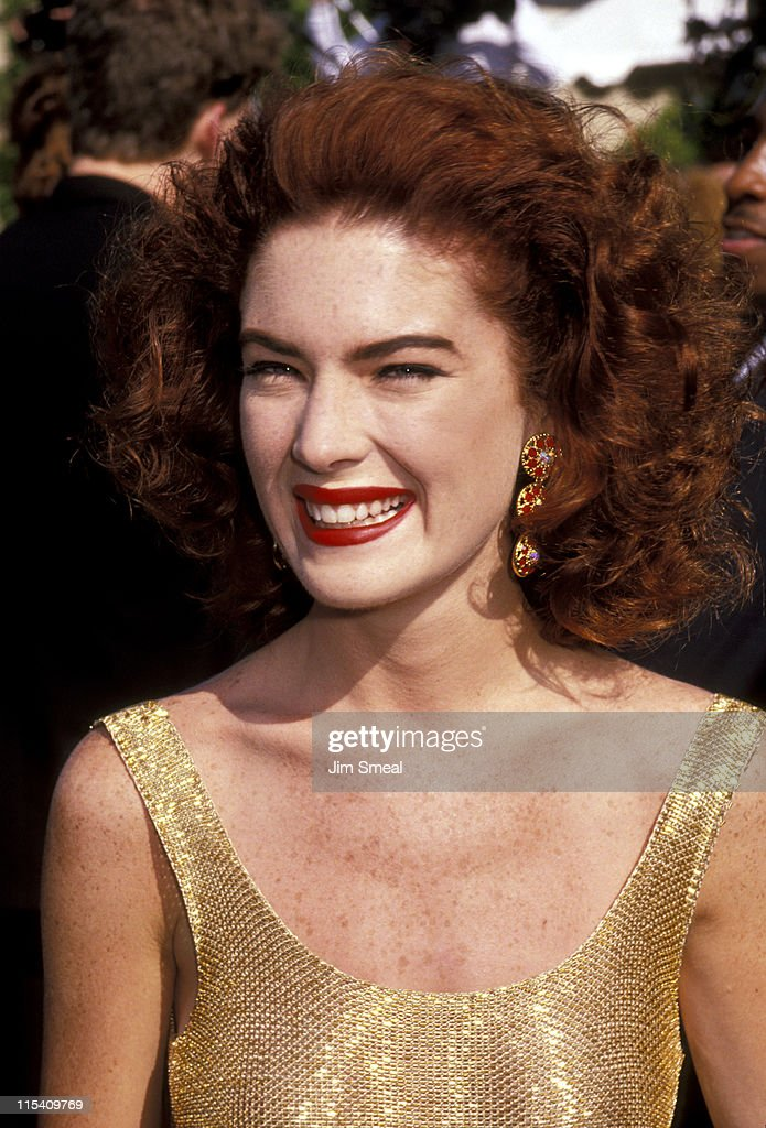<a gi-track='captionPersonalityLinkClicked' href=/galleries/search?phrase=Lara+Flynn+Boyle&family=editorial&specificpeople=202060 ng-click='$event.stopPropagation()'>Lara Flynn Boyle</a> during 43rd Annual Primetime Emmy Awards - Arrivals at Pasadena Civic Auditorium in Pasadena, California, United States.