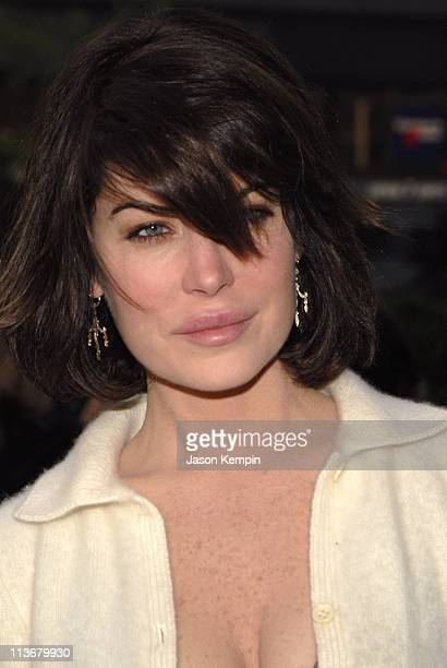 Lara Flynn Boyle during 5th Annual Tribeca Film Festival Premiere of 'Land Of The Blind' Outside Arrivals at Loews Lincoln Square Theater in New York...