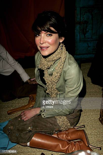 Lara Flynn Boyle during Cheryl Howard Crew Celebrates Her New Book 'In The Face of Jinn' at Private Residence in Pacific Palisades California United...