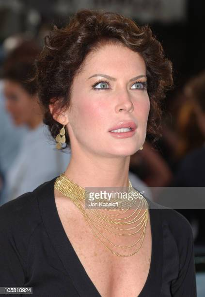 Lara Flynn Boyle during 'I ROBOT' World Premiere Arrivals at Mann Village Theatre in Westwood California United States
