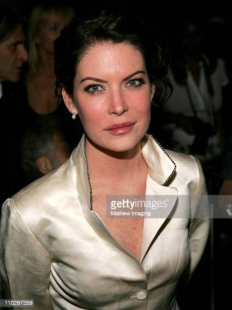 Lara Flynn Boyle during MercedesBenz Fall 2006 LA Fashion Week at Smashbox Studios Jennifer Nicholson Front Row and Backstage at Smashbox Studios in...