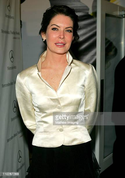 Lara Flynn Boyle during MercedesBenz Fall 2006 LA Fashion Week at Smashbox Studios Around Smashbox Day 4 at Smashbox Studios in Culver City...