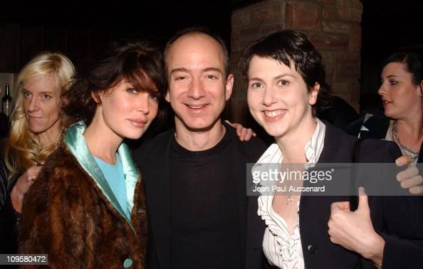 Lara Flynn Boyle Jeff Bezos Ceo Of Amazon And Wife Mackenzie