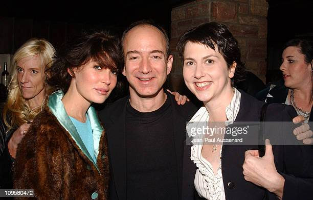 Lara Flynn Boyle Jeff Bezos CEO of Amazon and wife Mackenzie