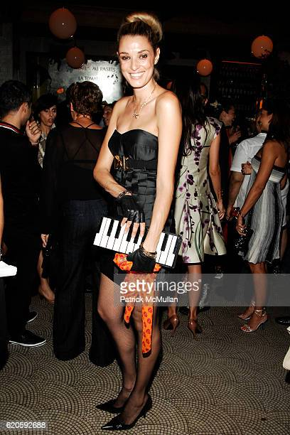 Lara Gerin attends Private Dinner hosted by CARLOS JEREISSATI CEO of IGUATEMI at Pastis on September 6 2008 in New York City