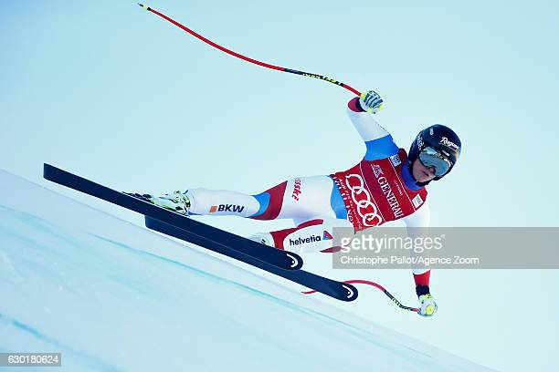 Lara Gut of Switzerland competes during the Audi FIS Alpine Ski World Cup Women's SuperG on December 18 2016 in Vald'Isere France