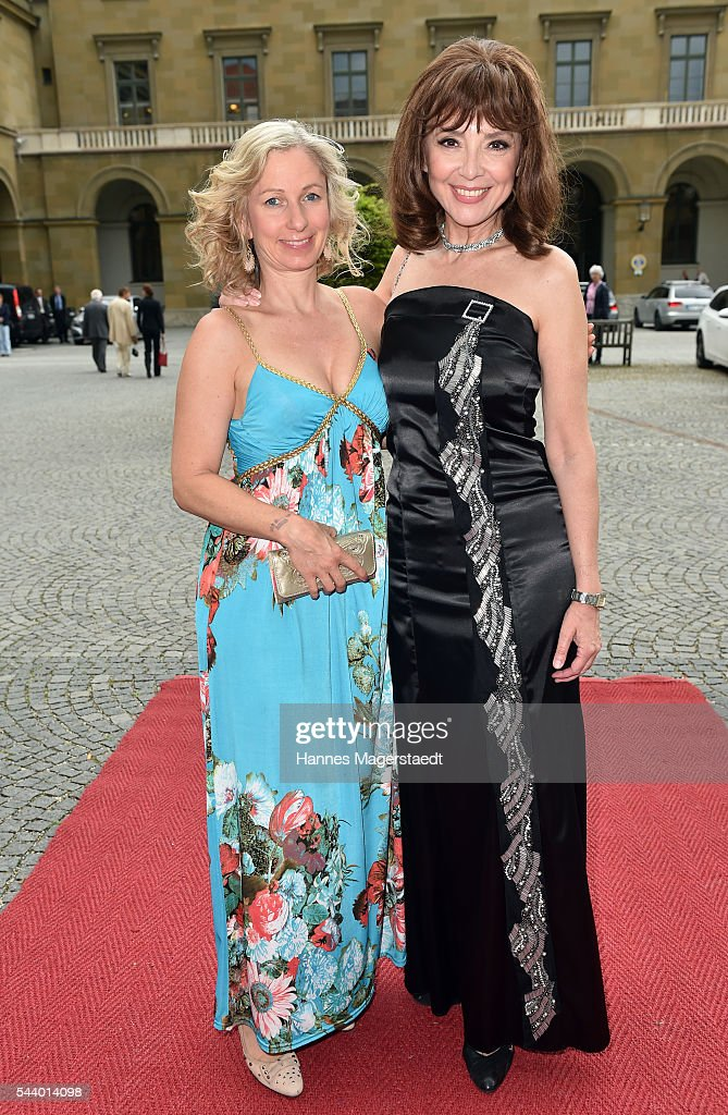 Lara J. Sander and Cornelia Corba attend the Bernhard Wicki Award (Friedenspreis des Deutschen Films) during the Munich Film Festival 2016 at Cuvilles Theatre on June 30, 2016 in Munich, Germany.