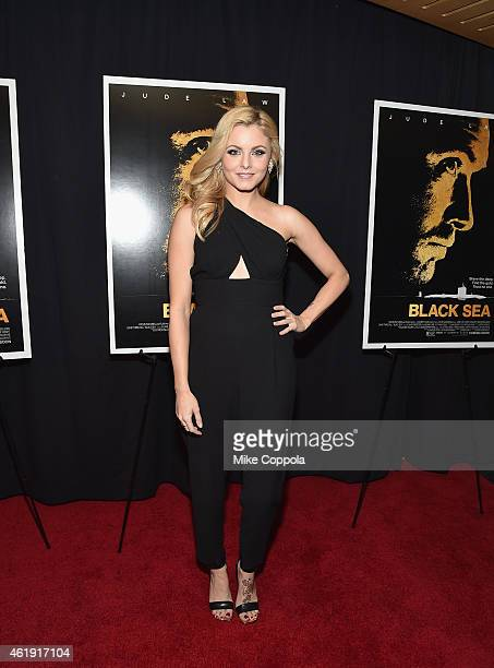 Lara Jade attends the 'Black Sea' New York screening at Landmark Sunshine Cinema on January 21 2015 in New York City