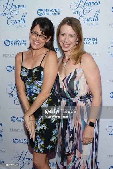 Lara Jill Miller and Anna Graves attend the Heaven On Earth Gala The Perry MacFarlane Legacy honoring 20th Century Fox TV Animation Amanda Seyfried...