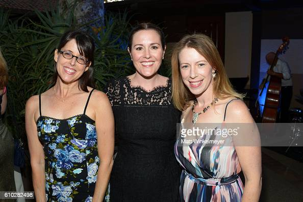 Lara Jill Miller Rachael MacFarlane and Anna Graves attend the Heaven On Earth Gala The Perry MacFarlane Legacy honoring 20th Century Fox TV...