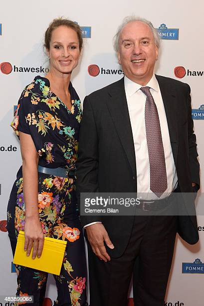 Lara Joy Koerner and Alexander Margaritoff attend the 'Revenge of the Champagne' event as part of the 50 Year Anniversary of Hawesko on April 10 2014...