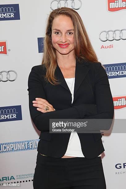 Lara Joy Koerner attends the Audi Director's Cut as part of Filmfest Munich at Praterinsel on June 28 2014 in Munich Germany