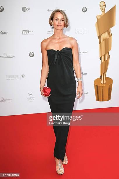 Lara Joy Koerner attends the German Film Award 2015 Lola at Messe Berlin on June 19 2015 in Berlin Germany
