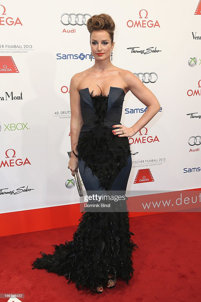 Lara Joy Koerner attends the Germany Filmball 2013 at Hotel Bayerischer Hof on January 19, 2013 in Munich, Germany.