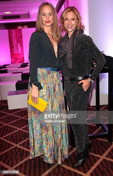 Lara Joy Koerner Carin C Tietze during the Video Entertainment Award 2014 on November 19 2014 at Hotel Westin Grand in Munich Germany