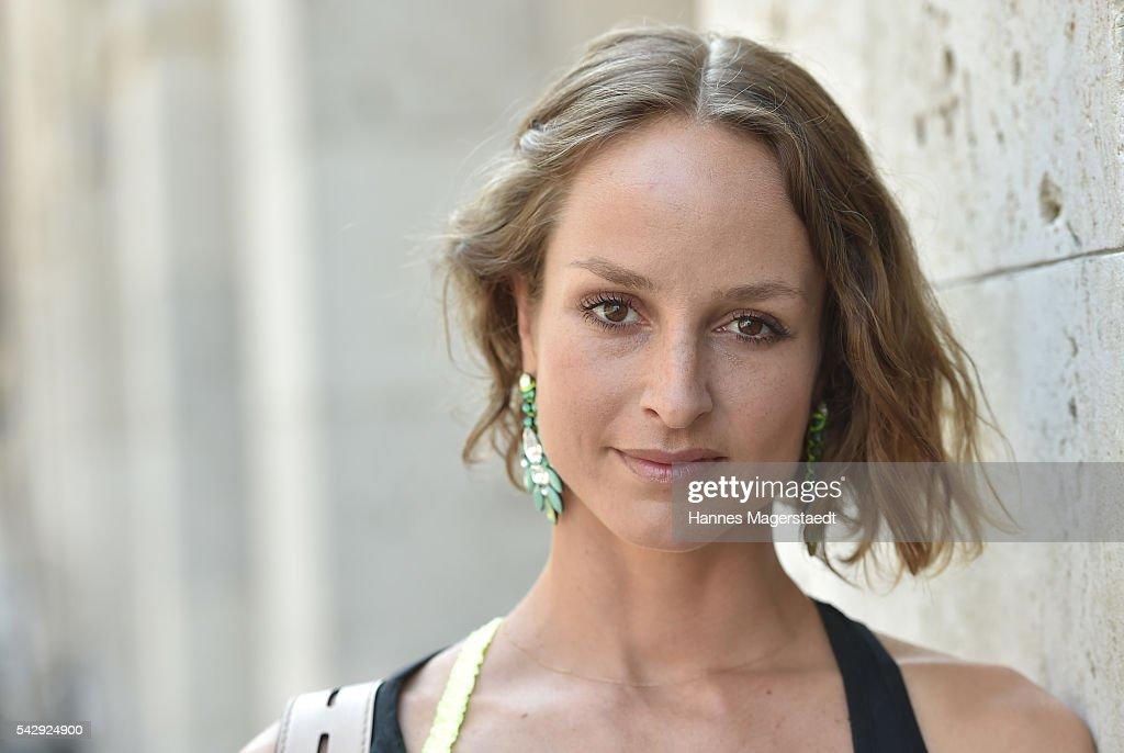 Lara Joy Koerner during the 'Sommerfest der Agenturen' at Hugo's on June 25, 2016 in Munich, Germany.