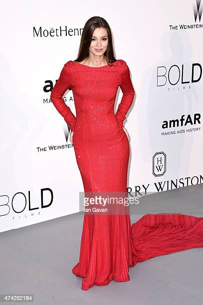 Lara Leito attends amfAR's 22nd Cinema Against AIDS Gala Presented By Bold Films And Harry Winston at Hotel du CapEdenRoc on May 21 2015 in Cap...