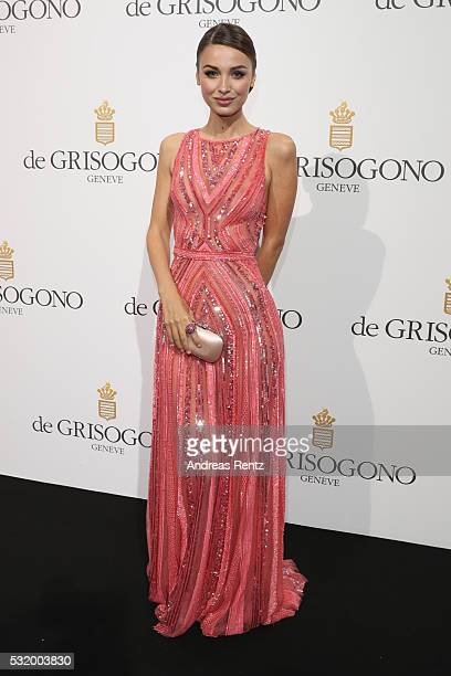 Lara Leito attends the De Grisogono Party during the annual 69th Cannes Film Festival at Hotel du CapEdenRoc on May 17 2016 in Cap d'Antibes France