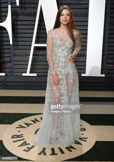 Lara Lieto attends the 2017 Vanity Fair Oscar Party hosted by Graydon Carter at Wallis Annenberg Center for the Performing Arts on February 26 2017...