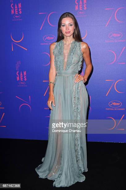 Lara Lieto attends the 70th Anniversary Dinner during the 70th annual Cannes Film Festival at on May 23 2017 in Cannes France