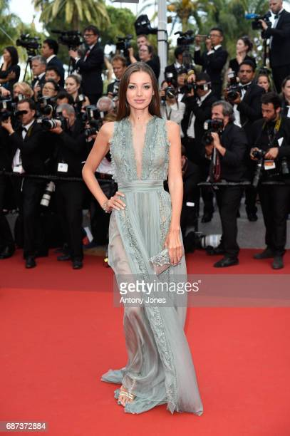 Lara Lieto attends the 70th Anniversary of the 70th annual Cannes Film Festival at Palais des Festivals on May 23 2017 in Cannes France