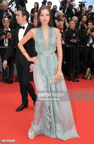 Lara Lieto attends the 70th Anniversary screening during the 70th annual Cannes Film Festival at Palais des Festivals on May 23 2017 in Cannes France