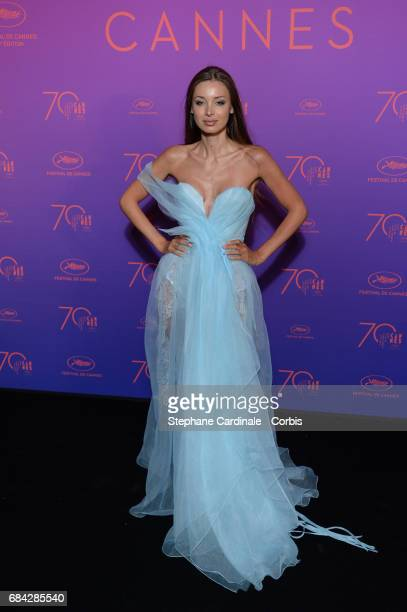 Lara Lieto attends the Opening Gala dinner during the 70th annual Cannes Film Festival at Palais des Festivals on May 17 2017 in Cannes France